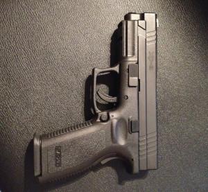 9mm, semi-automatic, Springfield, Sportsman,