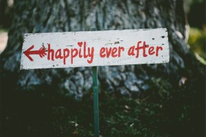 Marriage, married, happily ever after, sign, monogamy