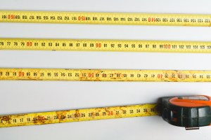 Tape measure, measuring tape, waist circumference, tale of the tape, fat, fit, fitness