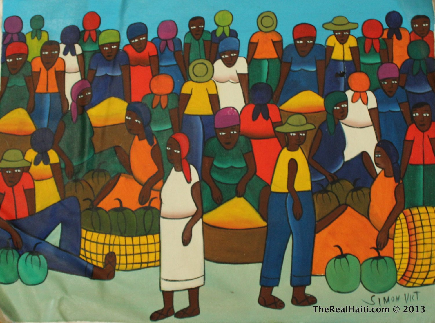 Unique Haitian Paintings Shipped From The U S