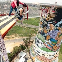 Bucket List to 40: Jump from Orlando Towers in Soweto DONE