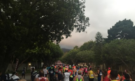 Running Two Oceans half marathon