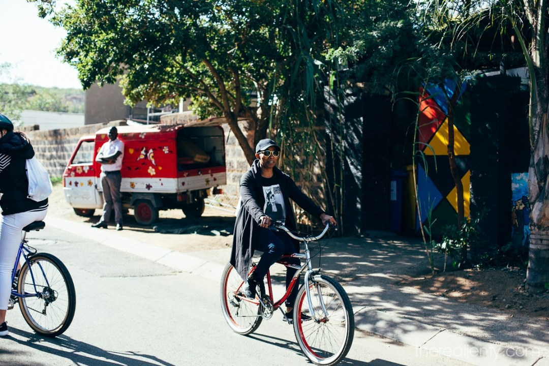 Cycling through Soweto 006