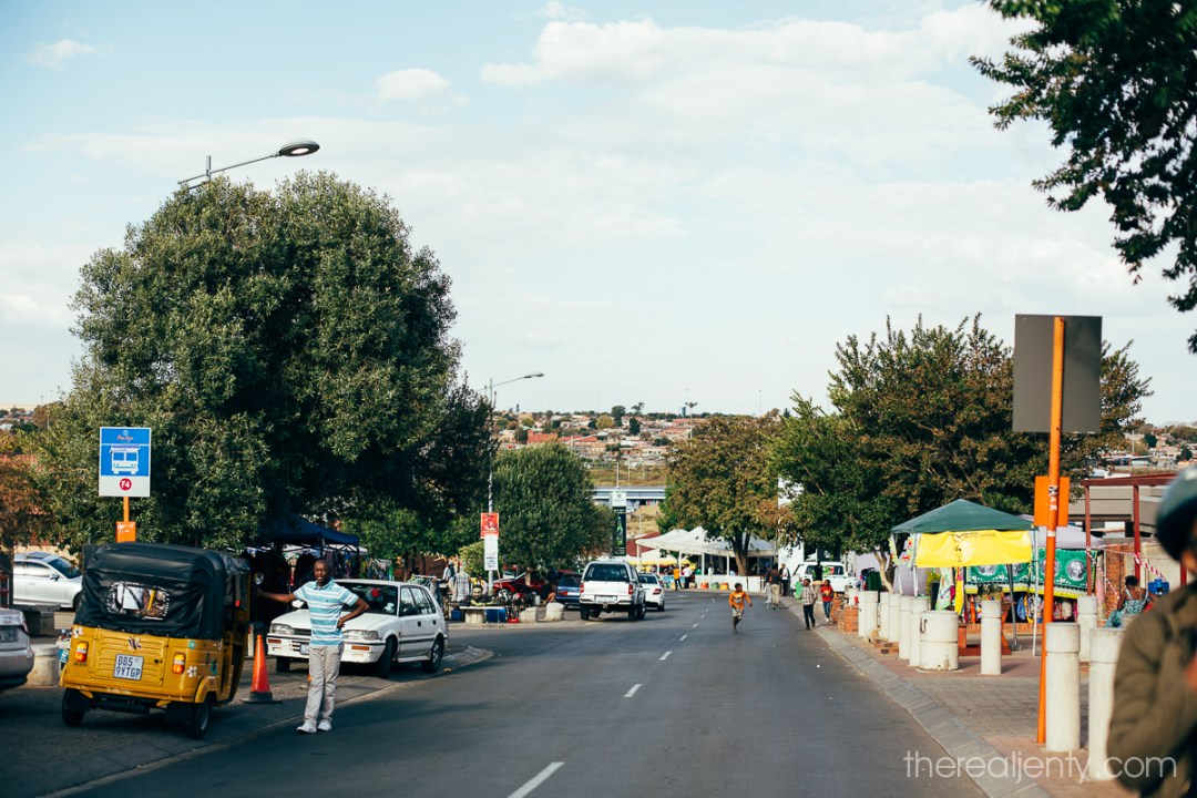 Cycling through Soweto 022