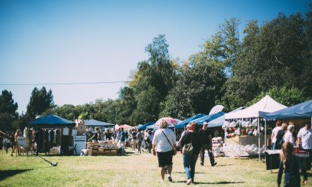 Linden Market on a gorgeous autumn day