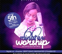 Finally! It's Today. 60 Minutes of Worship with Laureche Live at 7PM today