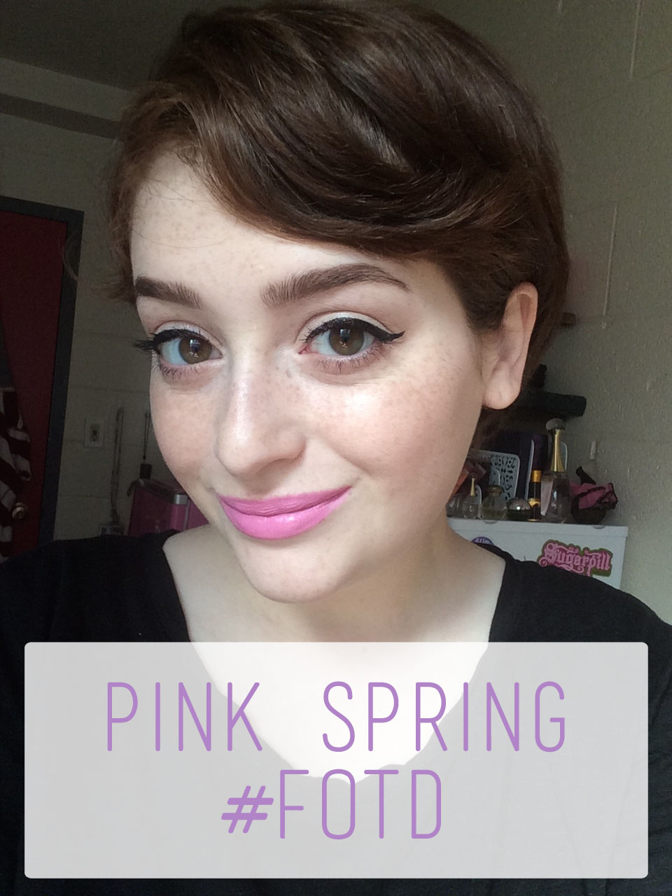 Pink Spring #FOTD Overview | The Rebel Planner copy