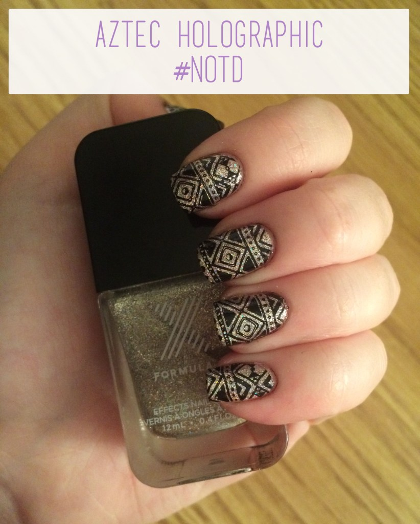 Aztec Holographic #NOTD Overview | The Rebel Planner