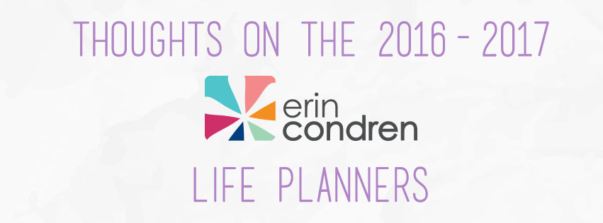 Thoughts of the Erin Condren Life Planners | The Rebel Planner