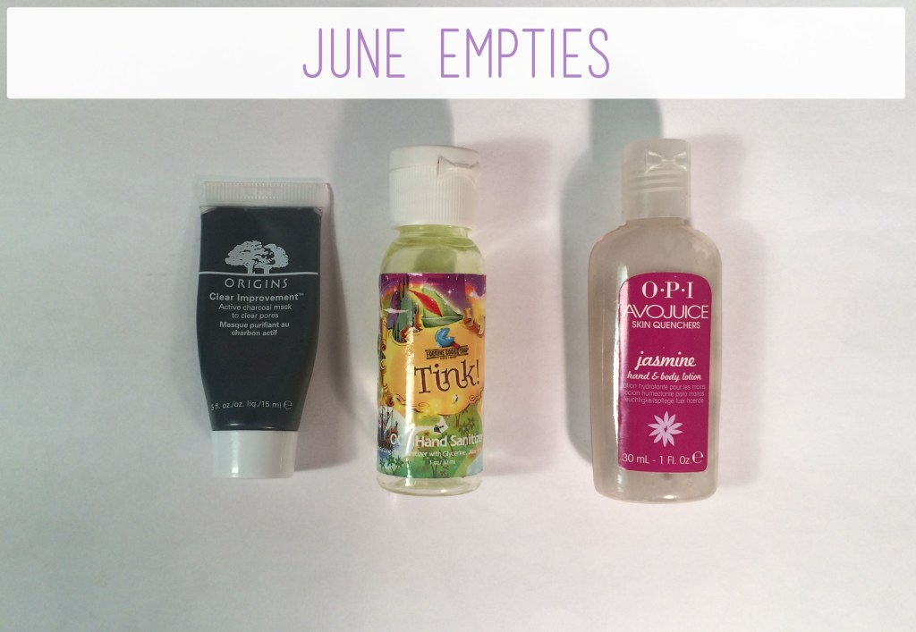 June Empties | The Rebel Planner