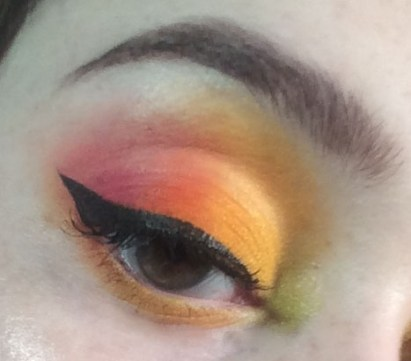 Hayley Williams Misery Business Inspired Makeup | The Rebel Planner