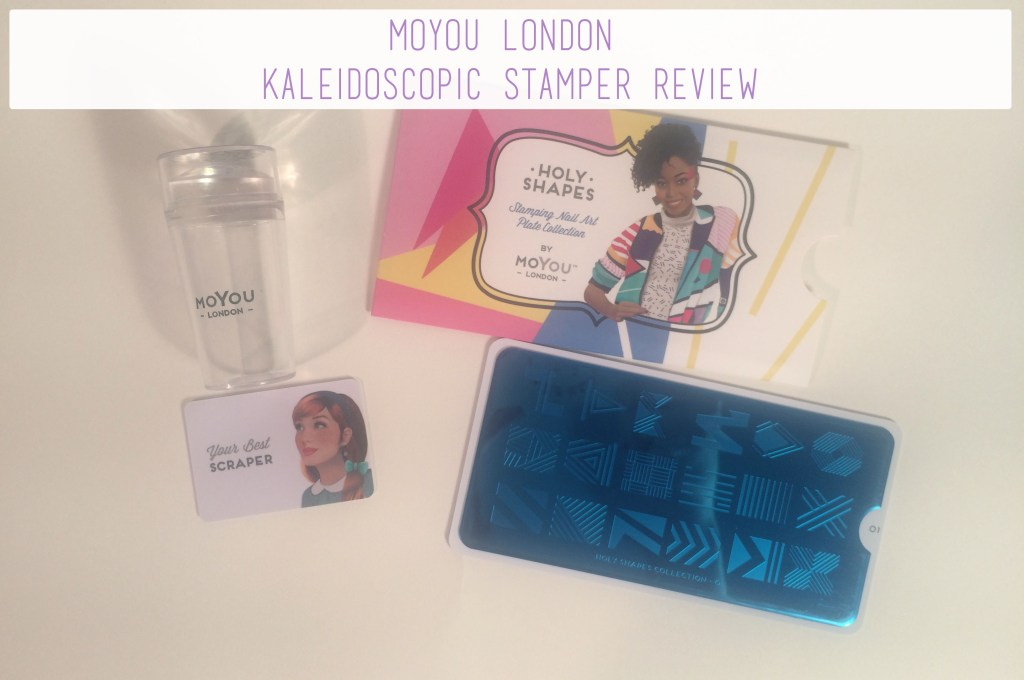 MoYou London Kaleidoscopic Stamper Review | The Rebel Planner