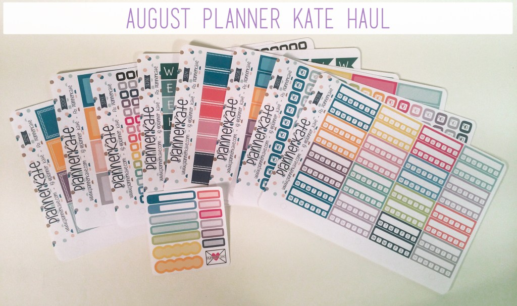 August Planner Kate Haul | The Rebel Planner