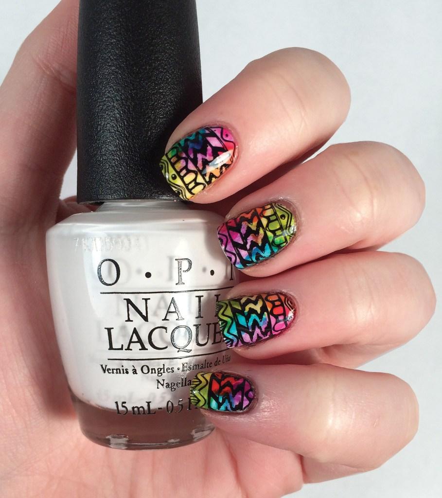Rainbow Aztec #NOTD