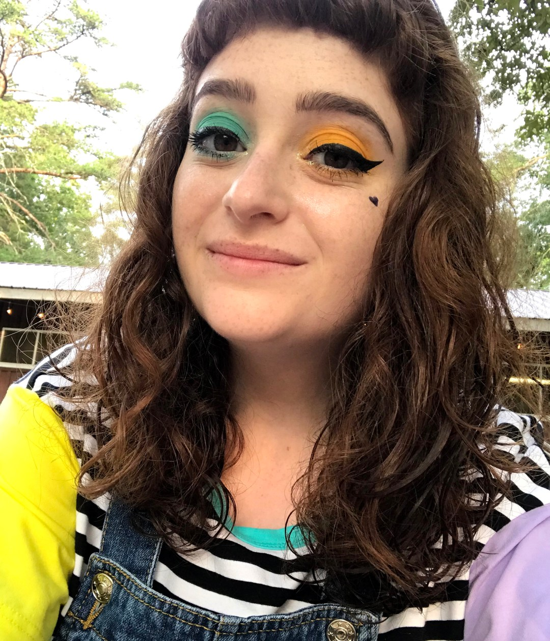 Camp Gritty makeup