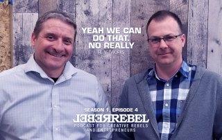 Rebels John Legare and Ryan Hulsker