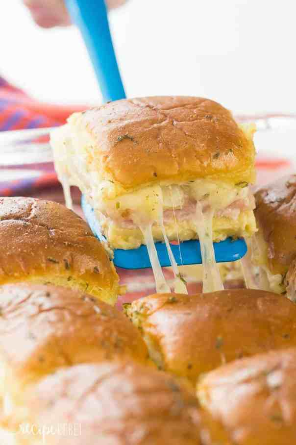 easy dinner ideas, Hawaiian Ham and Pineapple Sliders, cheap easy meals on a budget, cheap meals for large families