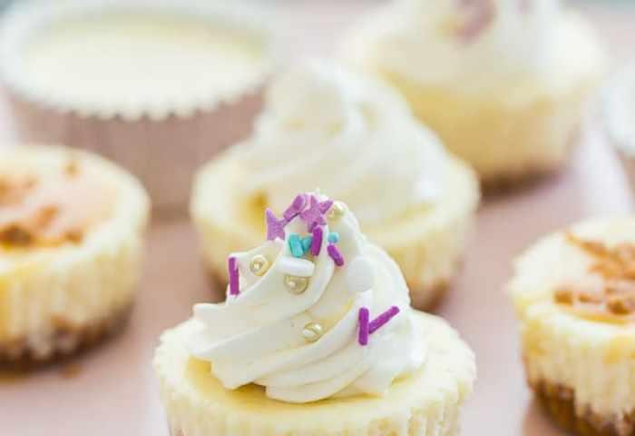 Easy Cheesecake Cupcakes Recipe Video The Recipe Rebel