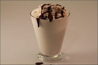 Double Layered Chocolate Frosty