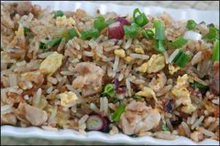 Easy Fish Fried Rice
