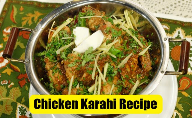 chicken karahi recipe by Shireen Anwar