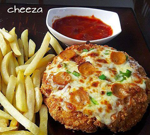 Easy KFC Chizza Recipe