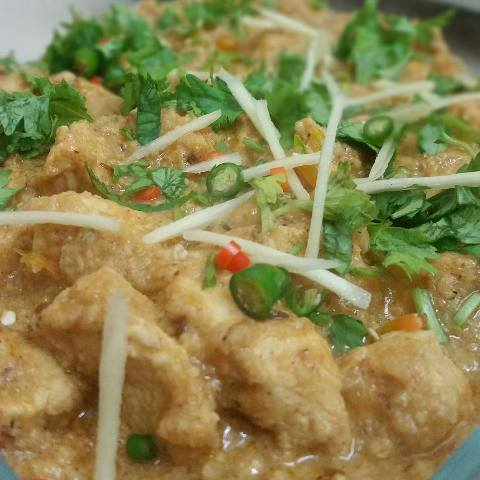 Creamy Chicken Cheese Handi Recipe