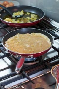 Tortilla de patata flip
