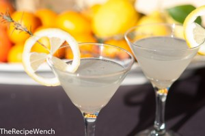 Rosemary-Lemon Martini