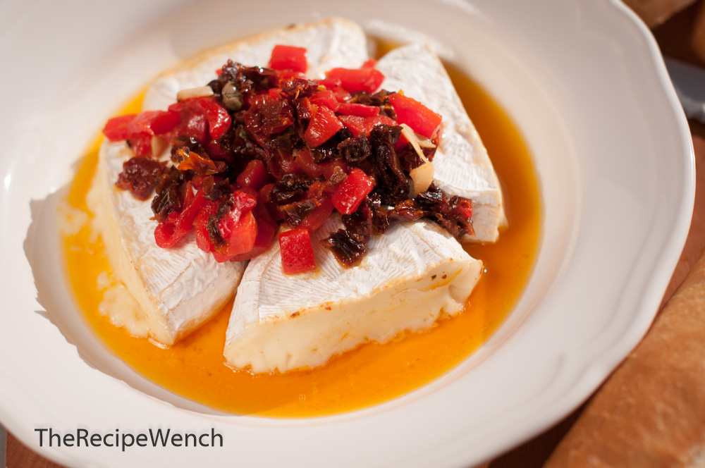 Brie Cheese and Sun Dried Tomatoes