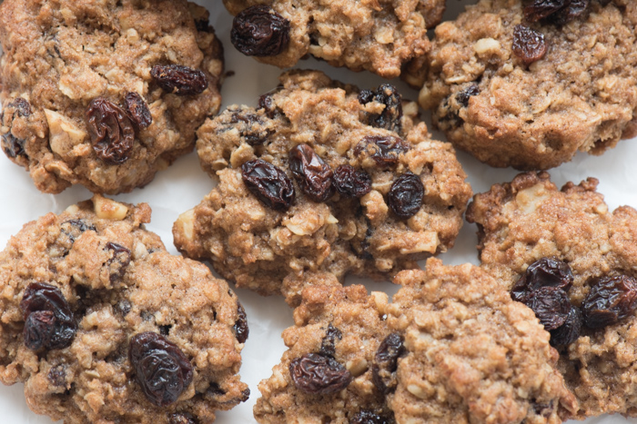 Oatmeal Raisin Cookies - Classic! Soft cookie, crunchy walnuts and chewy raisins! | The Recipe Wench