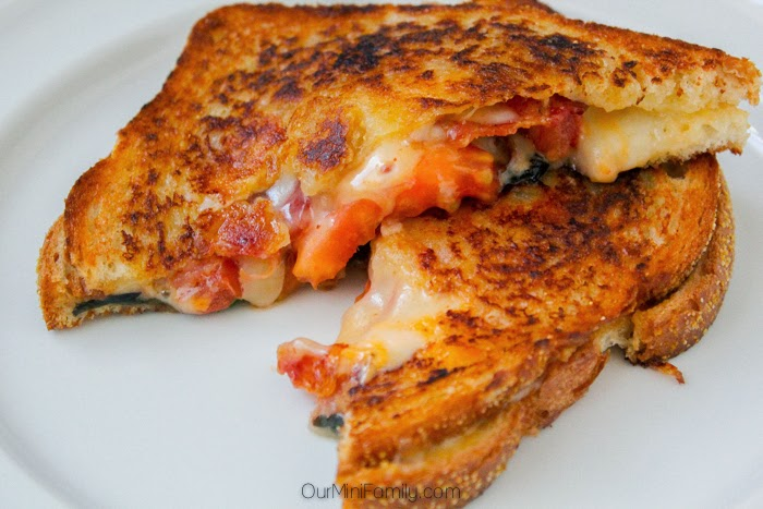 Sriracha Grilled Cheese from Our Mini Family