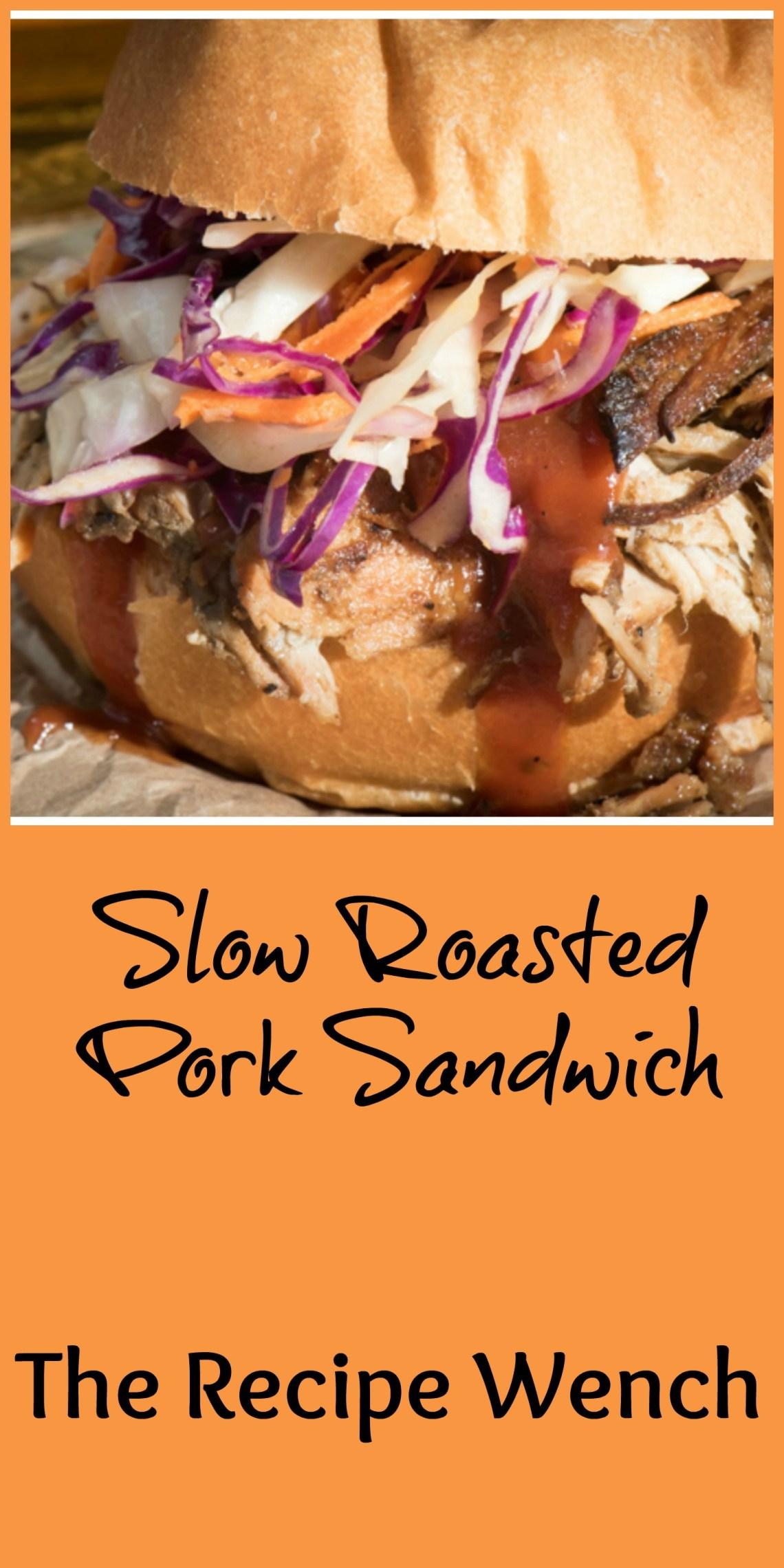 Slow roasted pork sandwich pm