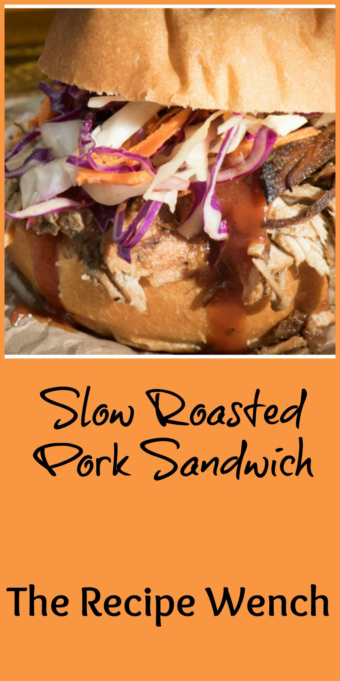 Slow roasted pork sandwich pm