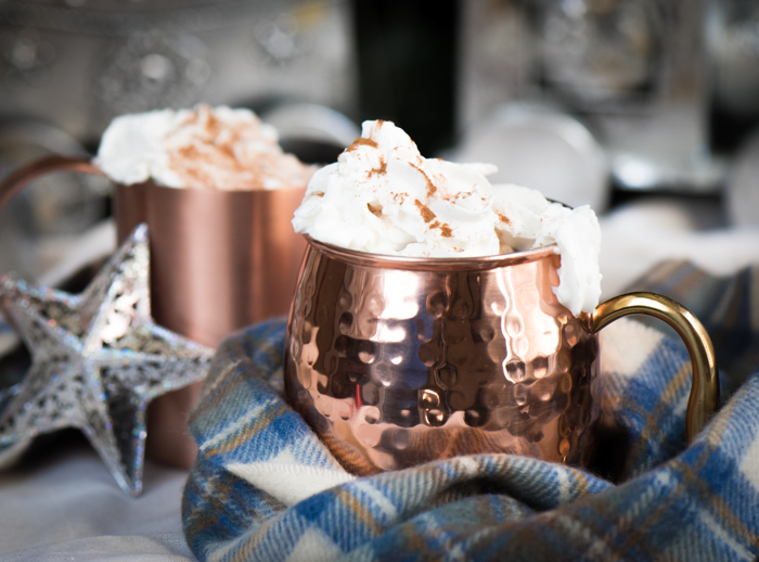 Easy Nutella Hot Chocolate is so delicious. What are you waiting for?! | The Recipe Wench
