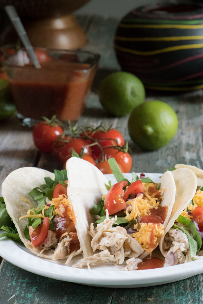 Easy Shredded Chicken for Tacos - The Recipe Wench