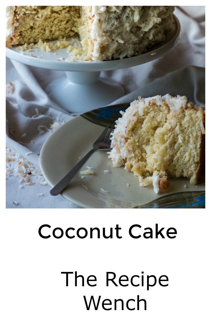 The essential coconut cake recipe for your arsenal! And the cream cheese frosting . . . oh yeah! | The Recipe Wench