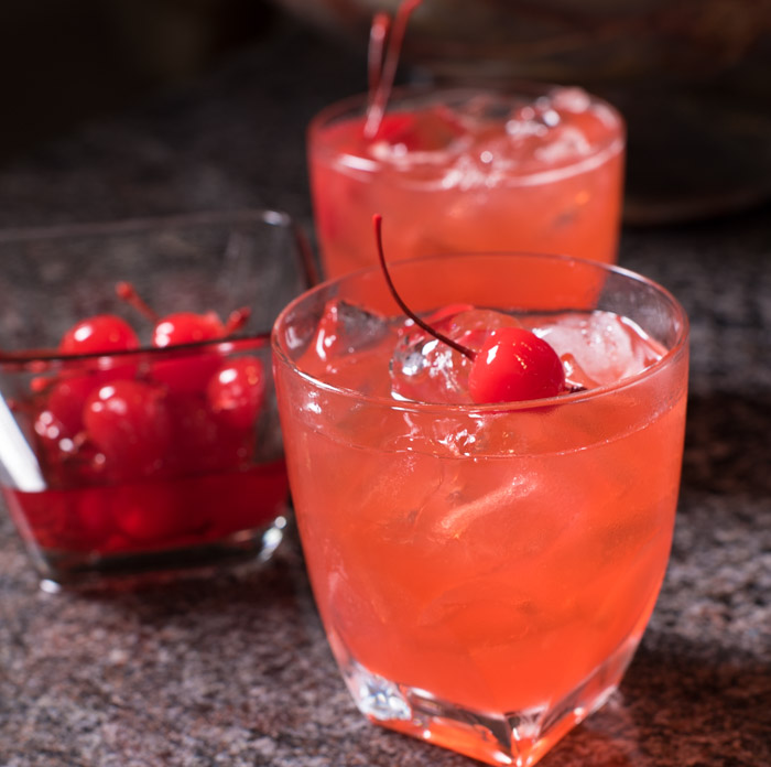 Vodka Lemon Holiday Cocktail