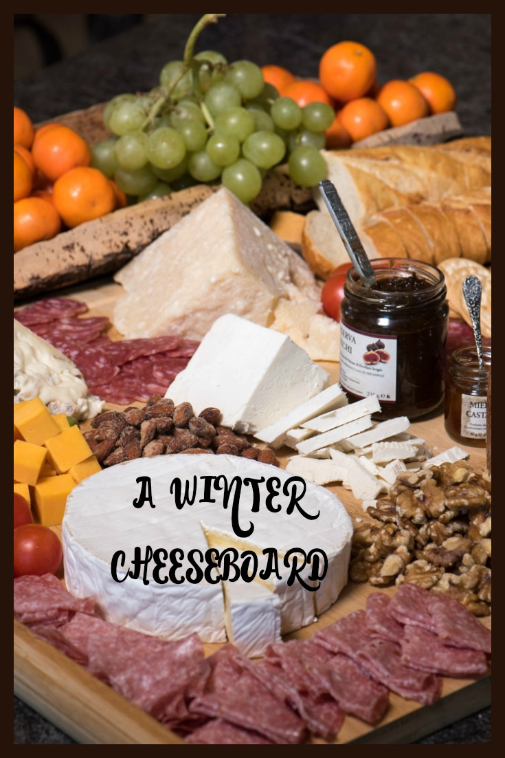 The cheeseboard is an easy eye-appealing appetizer to feed a crowd. Perfect addition to your New Years Eve party!   The Recipe Wench
