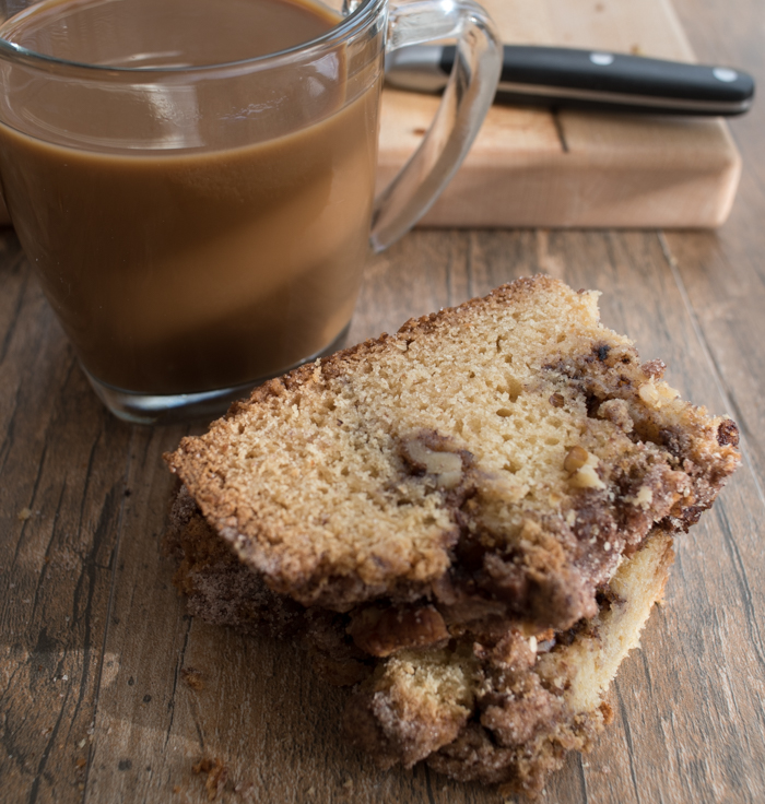 Here's a great recipe for cinnamon walnut coffee cake. Pour yourself a big glass of milk or hot cup of coffee and enjoy! - The Recipe Wench