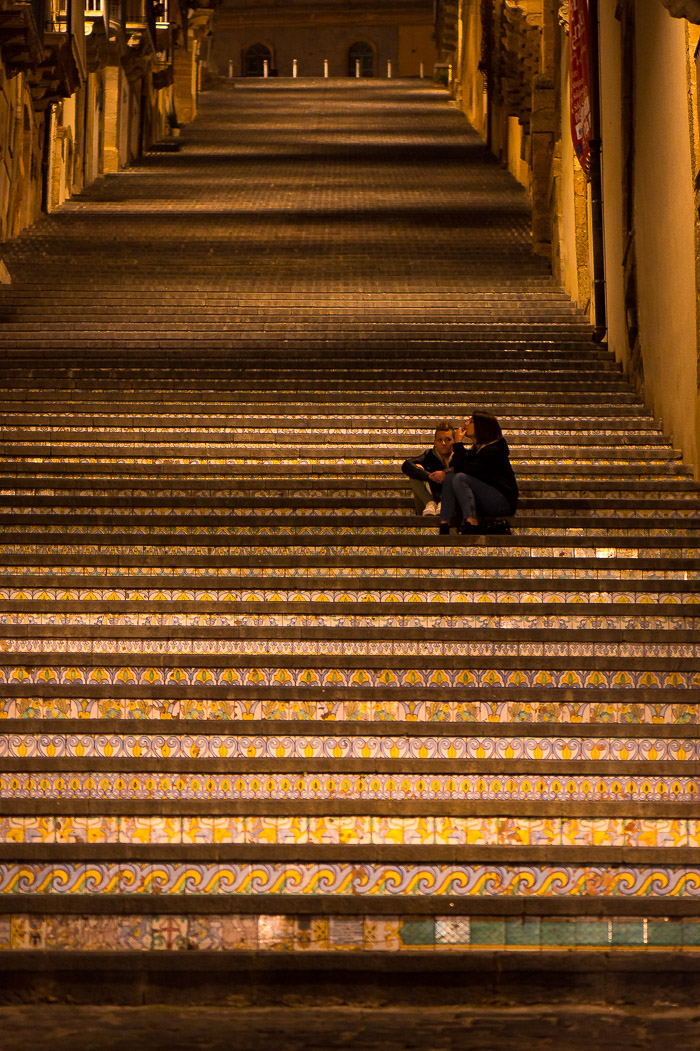 Steps in Caltagirone Sicily