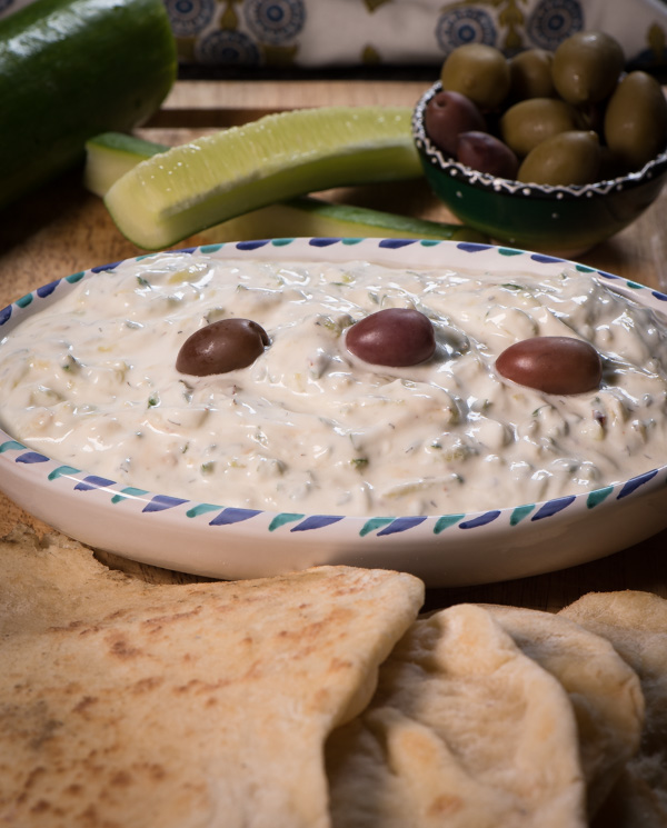 Tzatziki with a hint of dill - goes so well with grilled chicken or steak