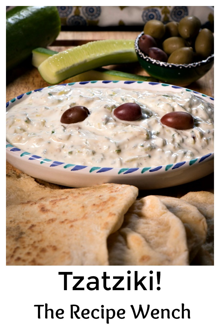 Creamy, thick tzatziki with a hint of dill. So refreshing! | The Recipe Wench