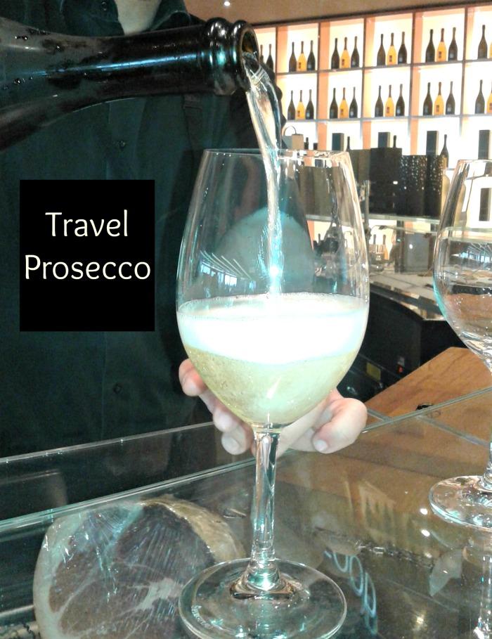 Athens Santorini Pre Flight Prosecco