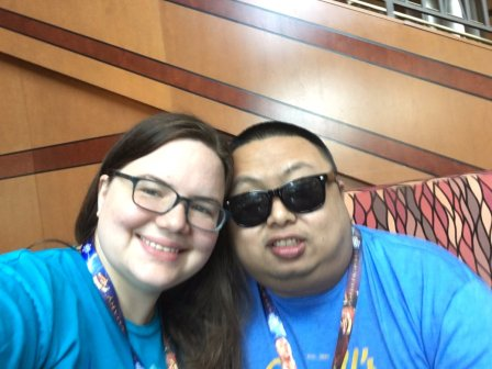 Megan and Aser at start of GenCon