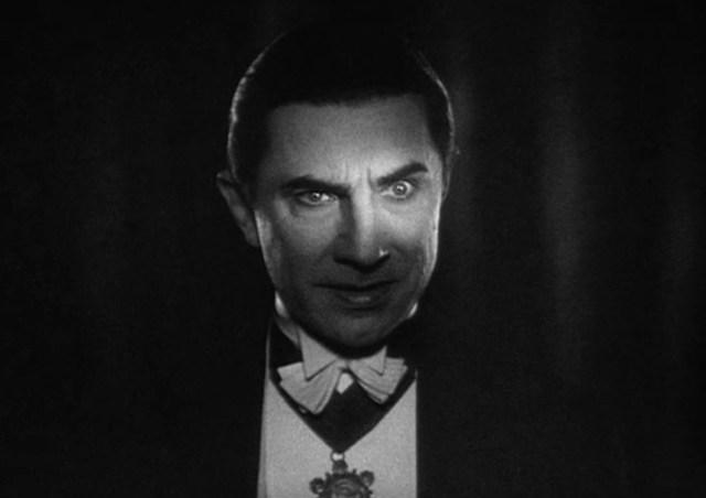 Lugosi as the classic Dracula