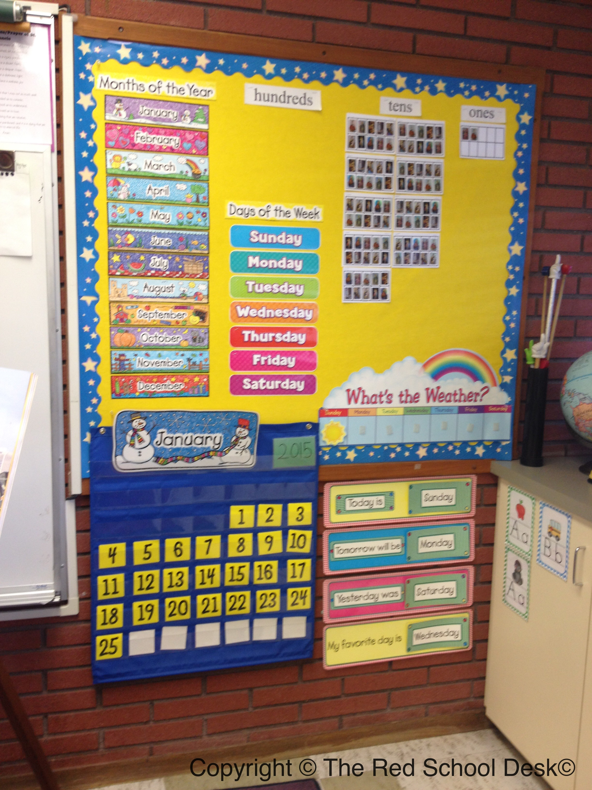 My Classroom Walls & Me: Bulletin Boards Oh My!! | The Red School Desk