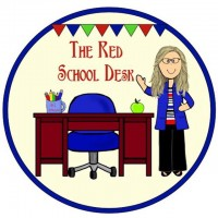 The Red School Desk