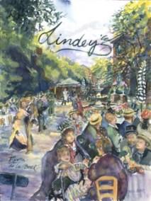 Lindey's Restaurant courtyard / Renoir