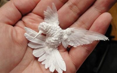Cheong-ah Hwang, Paper Sculpture